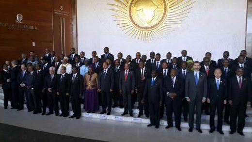 Chefs d'Etat africains, 2015