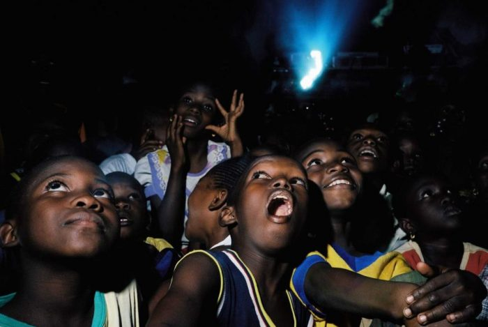 Cinéma ambulant au Togo