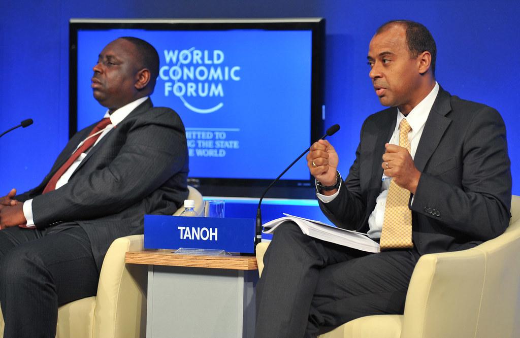 Forum de leader de l'économie mondial